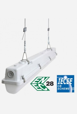 ELUMA LOW BAY 4ft LED PD up to 65W