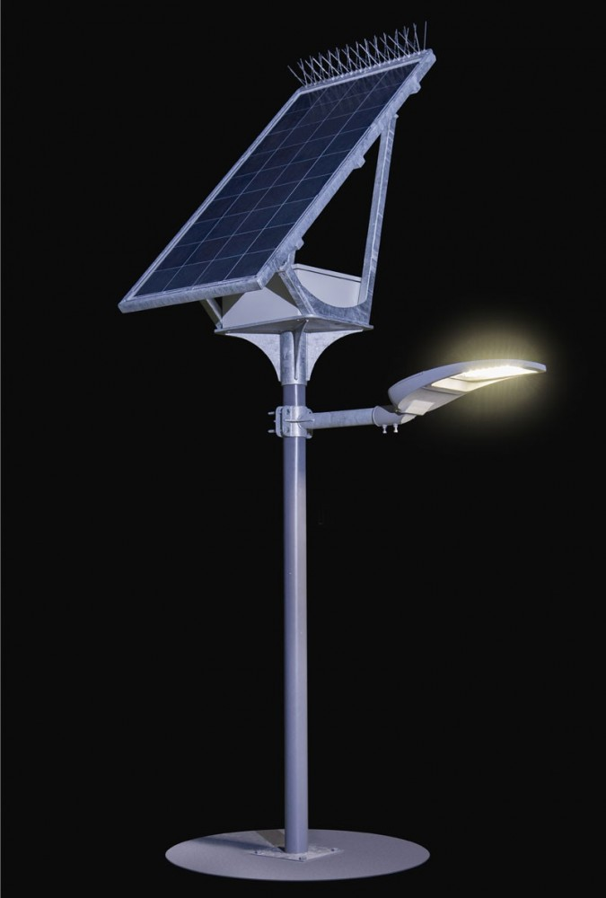 solar light system up to 30w st 1m 6000 s g